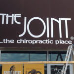 the joint chiropractic awning