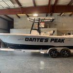 Dante's Peak Boat Wrap
