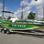 sign design pros boat wrap