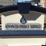 Advanced Energy Services Signage