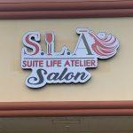 Suite Life Atelier Salon Signage
