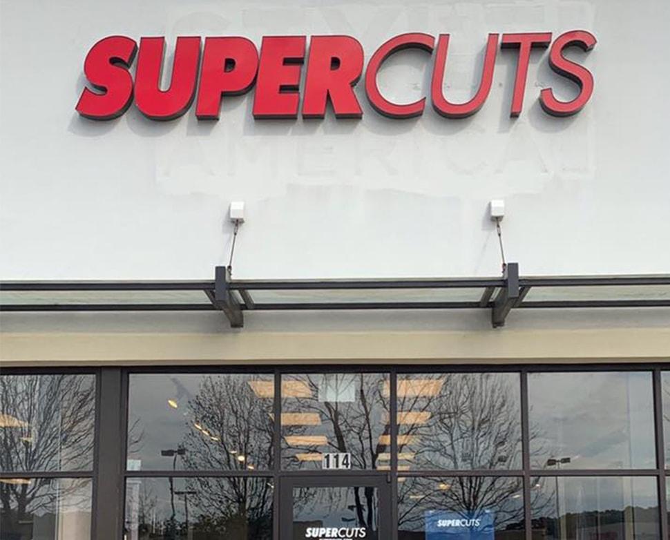Super Cuts Signage